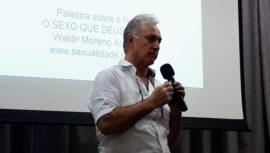 """Palestra """"Erótico no lugar do Sagrado"""", com Dr Waldir Moreno Arevalo"""