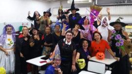 Gincana Halloween FATI 2019